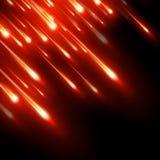 Neon sprengte helle Strahlen Stockfotografie