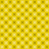 Neon squares pattern yellow Stock Photography