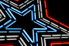 Neon Star Stock Photos