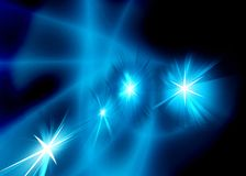 Neon starry abstract Stock Image