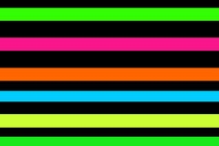 Neon stripes Stock Photography