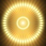 Neon teleportiert Stockfotografie