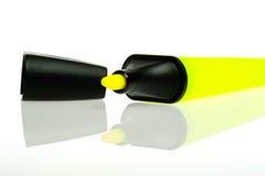Neon textmarker Royalty Free Stock Image