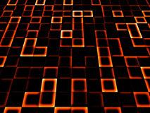 Neon tile background Royalty Free Stock Photos