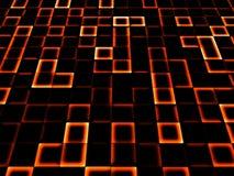 Neon tile background Royalty Free Stock Photos