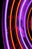 Neon tube abstract shape background Royalty Free Stock Photo