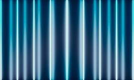 Neon Tubes with wonderful light stock illustration