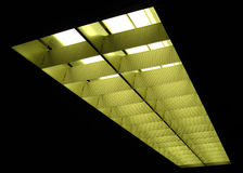 Neon und Aluminium Lizenzfreies Stockbild