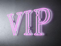 Neon VIP sign Stock Images