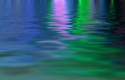 Neon on Water Stock Photos