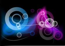 Neon wave Stock Image