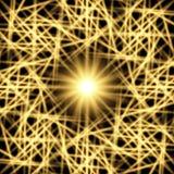 Neon web. Vector - an abstract neon web Stock Image