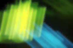 Neonabstraktion Stockfotografie