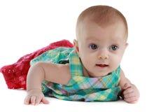 Neonata (3 mesi) Fotografie Stock Libere da Diritti
