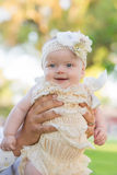 Neonata adorabile fotografie stock