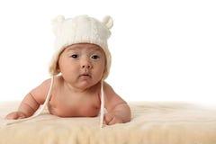 Neonata anziana di quattro mesi immagini stock libere da diritti