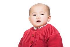 Neonata asiatica fotografia stock