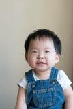 Neonata asiatica Immagine Stock