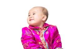 Neonata cinese fotografia stock