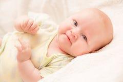 Neonata di due mesi della neonata Immagine Stock