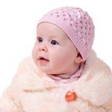 Neonata di sette mesi Fotografia Stock Libera da Diritti