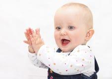 Neonata felice fotografia stock libera da diritti