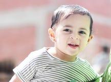 Neonata musulmana araba felice Immagini Stock Libere da Diritti