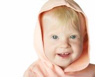 Neonata sorridente Fotografia Stock Libera da Diritti