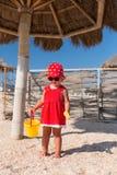 Neonata su una spiaggia Fotografia Stock Libera da Diritti