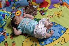 Neonata sveglia Immagine Stock Libera da Diritti