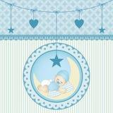 Neonato addormentato royalty illustrazione gratis