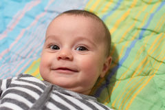 Neonato adorabile Immagini Stock