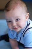 Neonato anziano di nove mesi Immagine Stock