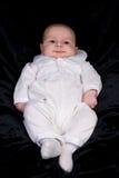 Neonato appena nato in attrezzatura di benedizione Immagine Stock