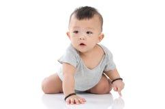 Neonato asiatico fotografie stock