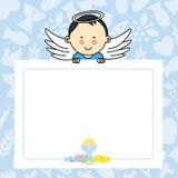 Neonato con le ali royalty illustrazione gratis