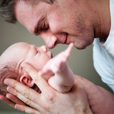 Neonato neonato immagine stock