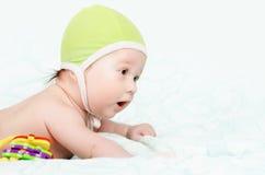 Neonato sveglio Fotografia Stock Libera da Diritti