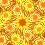 Neonblomma vektor illustrationer