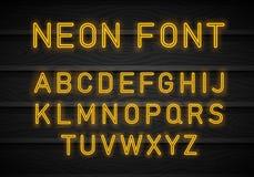 Neondoopvont Vector vector illustratie