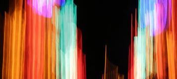Neongestänge Lizenzfreie Stockfotografie