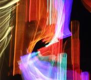 Neongestänge lizenzfreie stockfotos