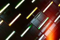 Neonlampor Royaltyfria Foton