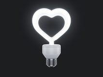 Neonlicht Stock Afbeelding