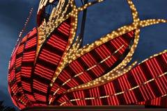 Neonlichten Stock Foto's