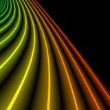 Neonlichten royalty-vrije illustratie