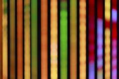 Neonlichter der Stadt nachts, in verwischt Lizenzfreie Stockbilder