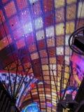 Neonlichter in Fremont-Straße, las Stockbilder