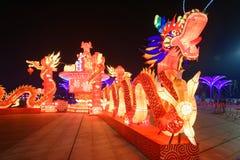 Neonlichter mit verschiedenen Formen Stockfotos