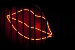 Neonlippen Stockbilder